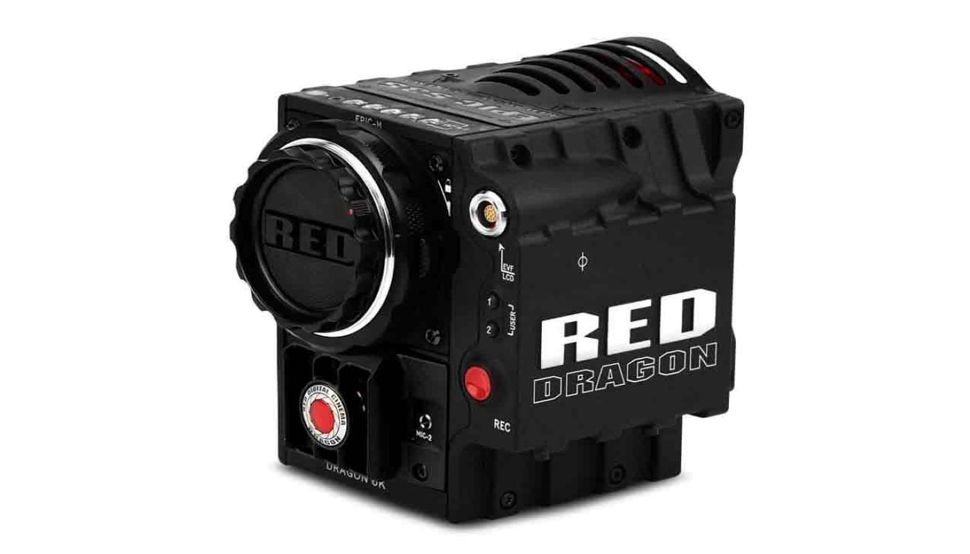 red epic dragon camera rental
