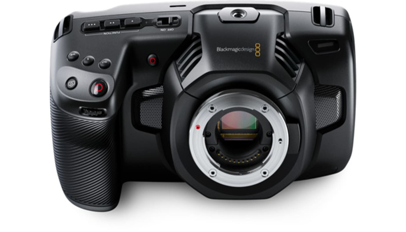 blackmagic pocket cinema camera 4k sm