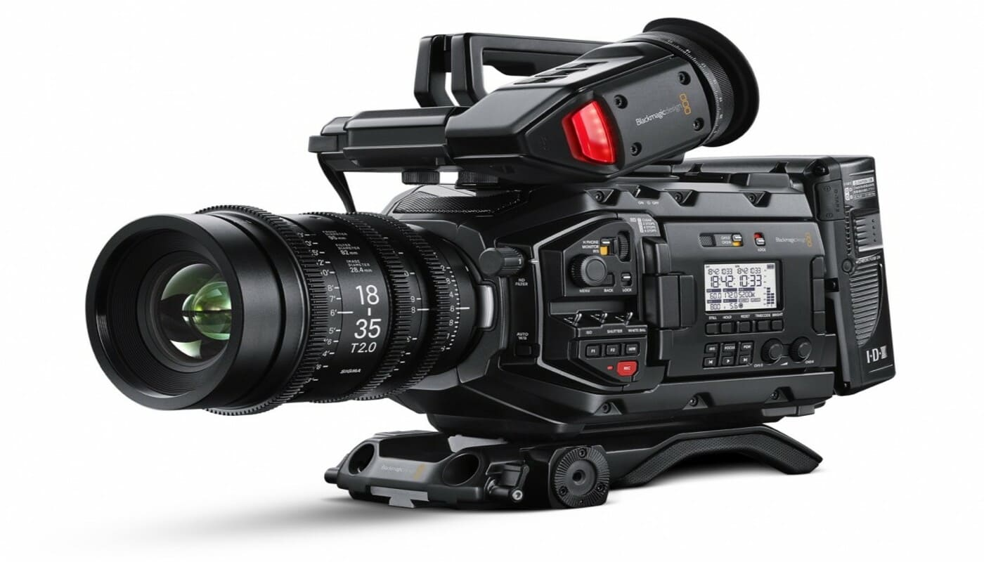 blackmagic ursa mini pro BM