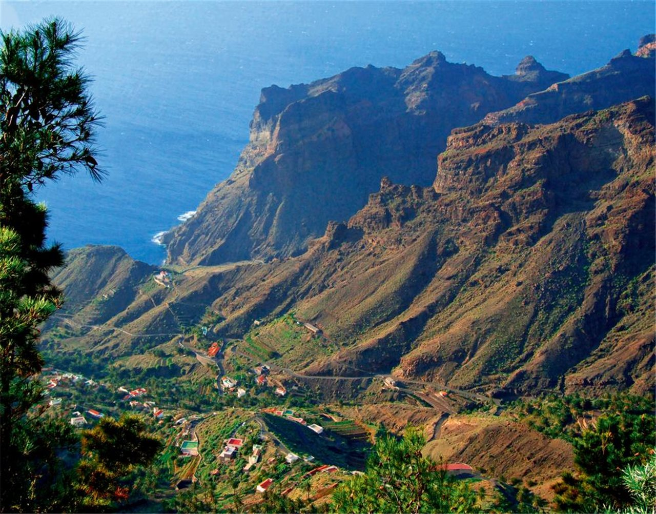 la gomera filming permits in the Canary islands