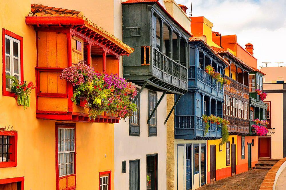 remarkable locations to film in the canary islands casas de los balcones