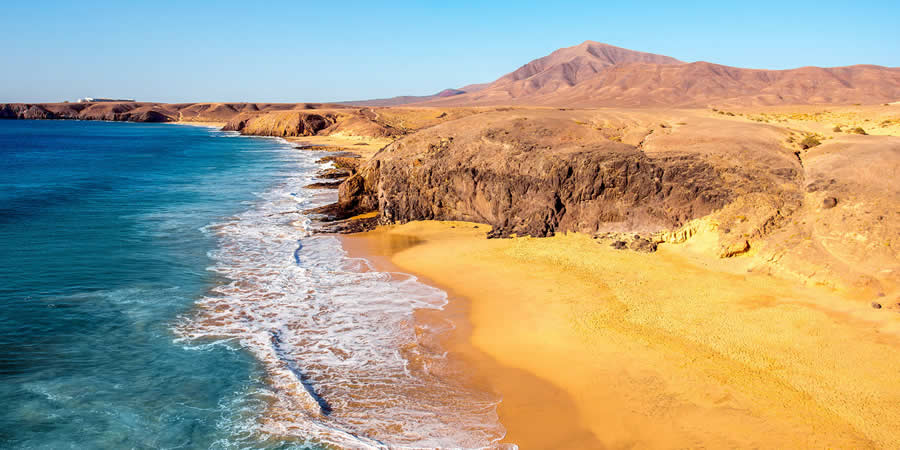 beaches to film in the canary islands papagayo lanzarote