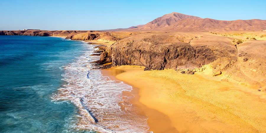 playas salvajes rodar en canarias papagayo