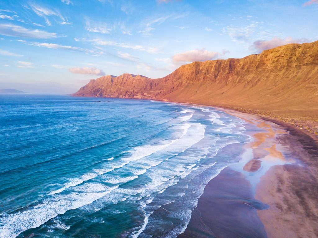 Wild beaches to film Canary Islands